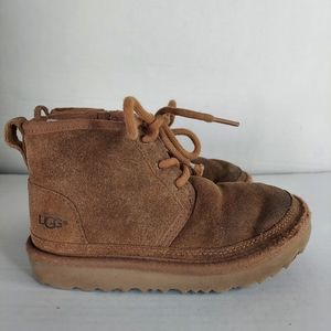 UGG Kids Chestnut Brown Winter Boots